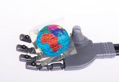 bras mécanique robotique Image libre de droits
