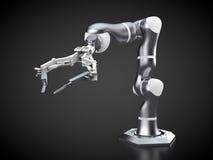 Bras robotique Photographie stock libre de droits