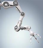 Bras robotique futuriste illustration stock