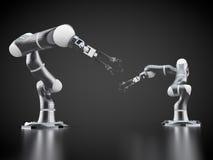 Bras robotiques Photos stock