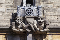 Brasenose College Gargoyle in Oxford Royalty Free Stock Images