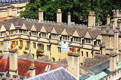 Brasenose College, Oxford. Royalty Free Stock Images