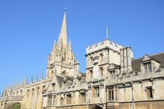 Brasenose College Oxford High Street Stock Image