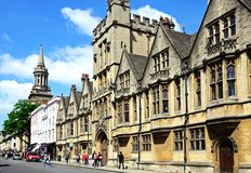 Brasenose College, Oxford. Stock Images