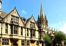 Brasenose College, Oxford. Royalty Free Stock Photo