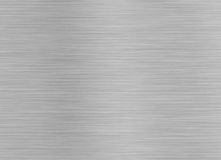 Brashed Steel Background. Space for Text Stock Image