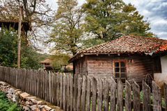 Brashlyan wioska blisko Malko Tarnovo, Bułgaria Zdjęcia Stock