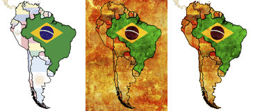 Brasil Imagens de Stock Royalty Free