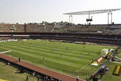 Brasil 1x0 África do Sul - São Paulo - Brasil imagens de stock
