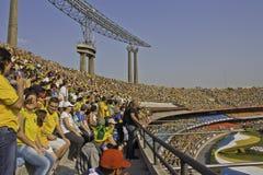 Brasil 1x0 África do Sul - São Paulo - Brasil Imagens de Stock Royalty Free