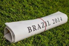 Brasil 2014 Foto de Stock Royalty Free