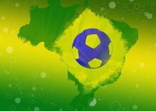 Brasil 2014 Abstract Background. Brasil 2014 Abstract Grunge Background Royalty Free Stock Photo