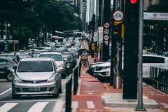 Brasil, Cars, City Royalty Free Stock Photo
