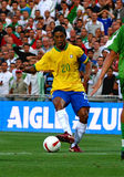 Brasil contra Argélia Imagem de Stock Royalty Free