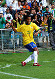 Brasil contra Argélia Fotos de Stock