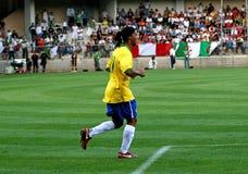 Brasil contra Argélia Foto de Stock