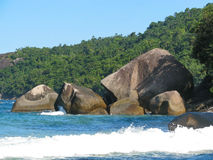 Brasil: Costa Verde de surpresa ( Foto de Stock Royalty Free