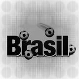 Brasil Creative Design. Brasil Creative Symbol Background Design Royalty Free Stock Photos