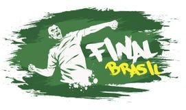 Brasil final Stock Image