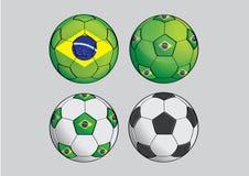 Brasil-futebol Imagem de Stock Royalty Free