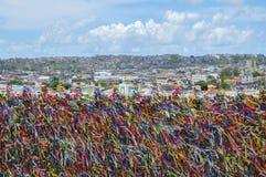 Brasil, igreja (de Salvador de Bahia) de Senhor faz Bomfin Fotos de Stock Royalty Free
