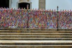 Brasil, igreja (de Salvador de Bahia) de Senhor faz Bonfim Imagens de Stock Royalty Free