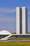 brasil kongressnational Royaltyfria Bilder
