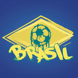 Brasil logo and signs. Brasil signs and logos for T-shirts or web sites Stock Images
