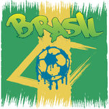 Brasil logo and signs Stock Image