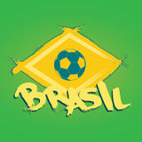 Brasil logo and signs Royalty Free Stock Photo