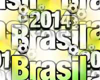 Brasil 2014 modern texture Royalty Free Stock Photos