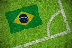 Brasil national flag Stock Photo