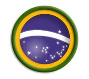 brasil olympics shield Fotografering för Bildbyråer