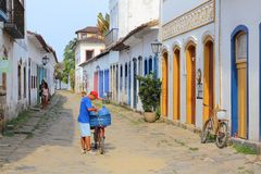 Brasil - Paraty Foto de Stock Royalty Free