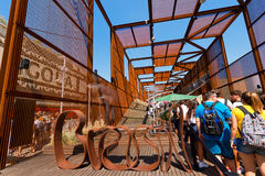 Brasil Pavilion - Expo Milano 2015 Stock Photography