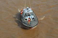 Brazil, Amazon River - Pilot Boat  Stock Image
