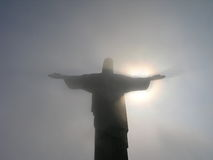 brasil redentor rio s Arkivfoto
