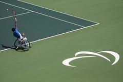 Brasil - Rio De Janeiro - Paralympic game 2016 maracanà. Brasil - Rio De Janeiro - Paralympic game 2016 wheelchiair tennis gustavo fernandez argentina team royalty free stock photos