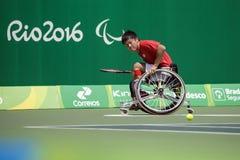 Brasil - Rio De Janeiro - Paralympic game 2016 maracanà. Brasil - Rio De Janeiro - Paralympic game 2016 wheelchiair tennis shingo kunieda china team royalty free stock images