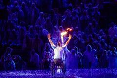 Brasil - Rio De Janeiro - Paralympic game 2016 maracanà opening ceremony. Brasil - Rio De Janeiro - Paralympic game 2016 the maracanà - opening ceremony stock images