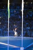 Brasil - Rio De Janeiro - Paralympic game 2016 maracanà opening ceremony. Brasil - Rio De Janeiro - Paralympic game 2016 the maracanà - opening ceremony royalty free stock photo