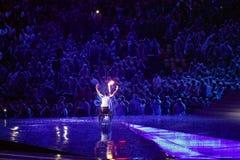 Brasil - Rio De Janeiro - Paralympic game 2016 maracanà opening ceremony. Brasil - Rio De Janeiro - Paralympic game 2016 the maracanà - opening ceremony royalty free stock image