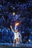 Brasil - Rio De Janeiro - Paralympic game 2016 maracanà opening ceremony. Brasil - Rio De Janeiro - Paralympic game 2016 the maracanà - opening ceremony royalty free stock photos