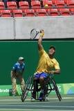 Brasil - Rio De Janeiro - Paralympic game 2016 maracanà. Brasil - Rio De Janeiro - Paralympic game 2016 wheelchiair tennis brasil team royalty free stock photography