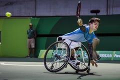 Brasil - Rio De Janeiro - Paralympic game 2016 maracanà. Brasil - Rio De Janeiro - Paralympic game 2016 wheelchiair tennis gustavo fernandez argentina team stock images
