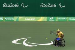 Brasil - Rio De Janeiro - Paralympic game 2016 maracanà. Brasil - Rio De Janeiro - Paralympic game 2016 wheelchiair tennis brasil team royalty free stock photo