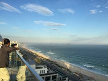 View from Rio de Janeiro Brasil. Brasil rio view from hotel Stock Photography