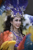 Brasil Samba Dancer imagens de stock royalty free