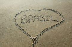 Brasil sand Royalty Free Stock Photography