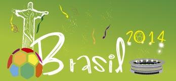 Brasil 2014 stadium Zdjęcia Stock